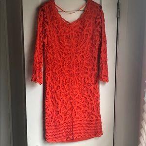 INC beautiful lace detailed summer dress!!